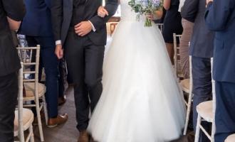 Bride-Groom-aisle-shot